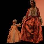 présentation de costumes, Perpignan, début du 18e siècle.