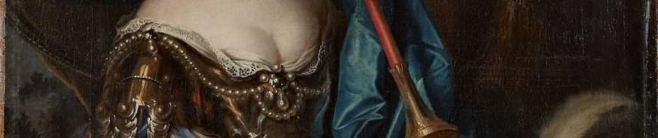 Mignard, portrait de la grande demoiselle en amazone