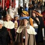 le Quai Vauban, défilé des costumes ...st Eloi 2011, Perpignan.
