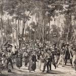 Bal populaire aux Platanes, vers 1829, Perpignan, Musée Rigaud.