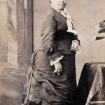 Portrait de femme, vers 1880, Photo Larauza, Rambla del Centro, Barcelone.