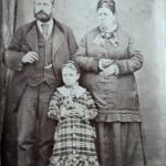 Portrait de famille, vers 1880, A. Larauza, Barcelone.