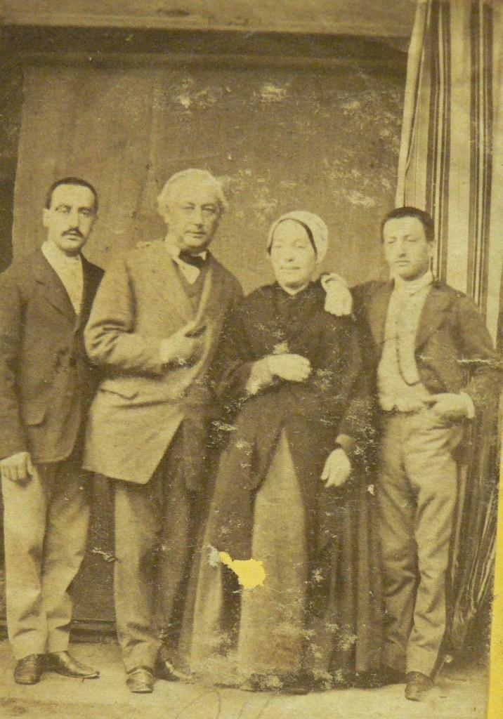 Groupe de Roussillonnais sous Napoléon III