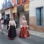 St Eloi 2011 Perpignan, arrivée des costumes roussilonnais