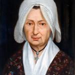 Autre portrait de femme par J.L.Elshoecht.