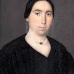 Portrait de Catalane 1840-1850 miniature anonyme