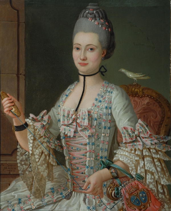 E. de la Vallée de la Roche, par Hubert-Descours, 1771 © 2006 The Bowes Museum