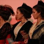 Les demoiselles d'honneur avaient apporté de présents.