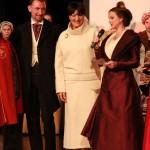 Astrid Giraud, Annie Galli et laurent Fonquernie.
