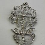 Saint-Esprit normand en argent et diamants d'Alençon, XVIIIe s.