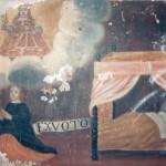 Ex-voto vers 1700, ermitage de Font-Romeu.