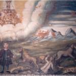 Font-Romeu, ex-voto début du 18e s.