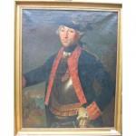 Portrait d'homme, probablement le mari du portrait de femme.
