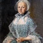 Portrait de jeune femme vers 1760, France, Bowes Museum.