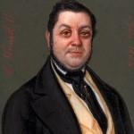 Lluis Vermell, actif à Barcelone, portrait d'homme, 1844.