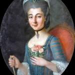 Portrait de jeune femme, vers 1760, Bowes museum.