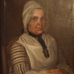portrait de femme, XVIIIe s., Sud-Ouest de la France, ebay.