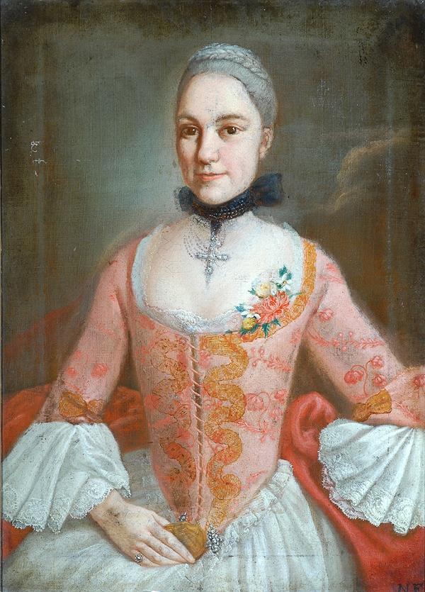 Vers 1758, anonyme français, Bowes museum.