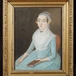Portrait de femme vers 1790.
