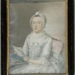 Portrait de femme vers 1760.