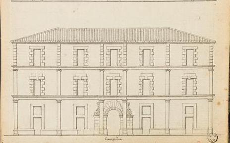Hôtel de Camprodon, rue du Théatre à Perpignan