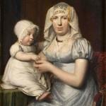 1822, costume empire et bijoux régionaux, Fries museum.