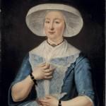 Portrait d'Anna Braam par Tibout Regters, Amsterdam Museum.