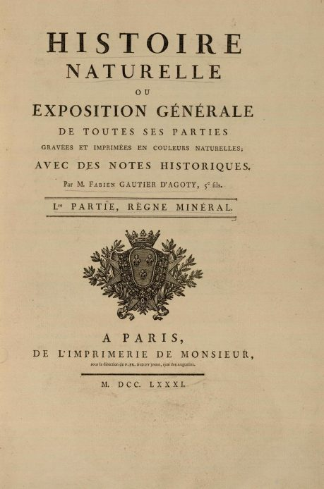 Gautier, description de mineraux.