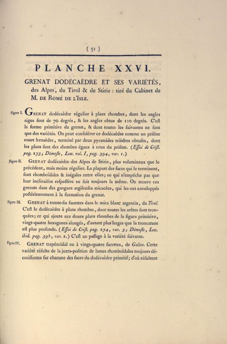 Gautier, description de la planche.