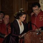 Discours d'Astrid Giraud, XXIe Reine d'Arles.