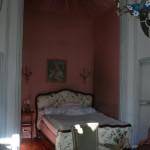 Alcove ou auraient dormis Georges Sand et Chopin à Perpignan.