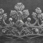Diadème créé par la maison Masrièra à Barcelone, 1905.