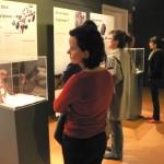 La expo a l'escola Massana (BCN) tal com a prefuguracio del centre d'interpretacio.