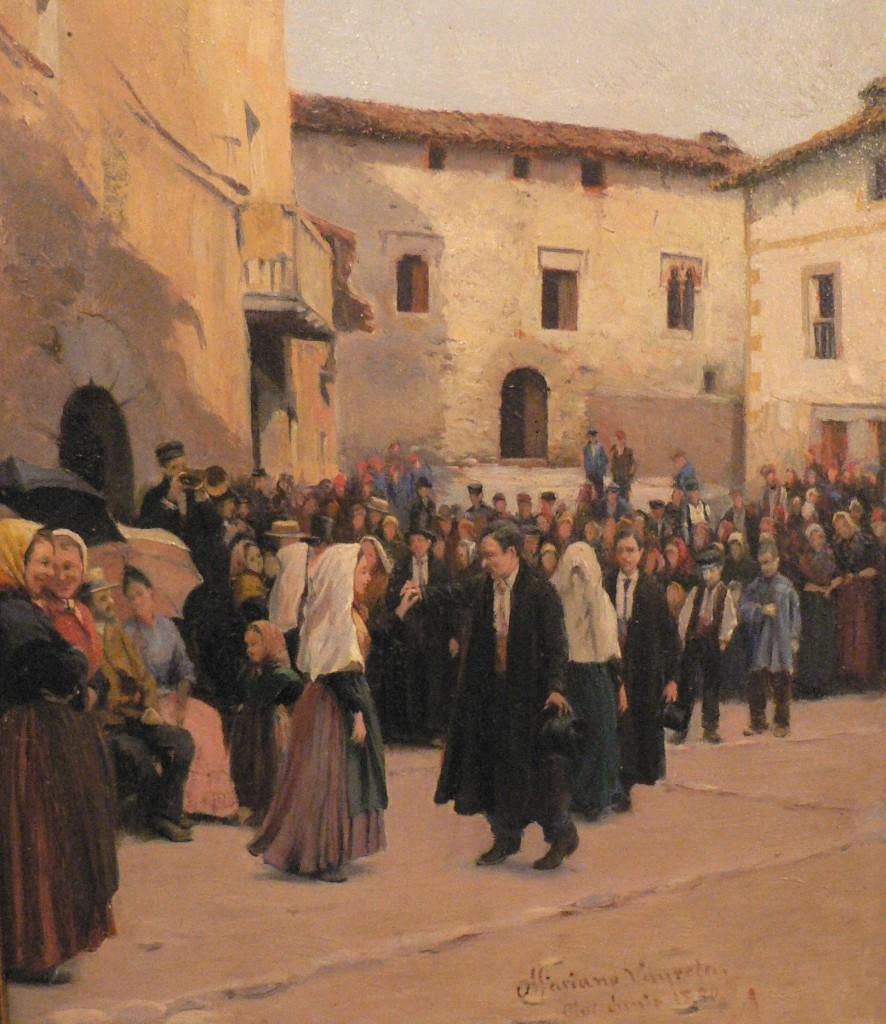 Ball de Gambetto à Ridaura, Marian Vayreda, 1890, Musée d'art, Girona.