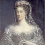 Portrait de la duchesse de Berry par Lefevre, 1826.