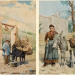 Hyacinthe Alchimowicz, paysans des environs de Perpignan, vers 1880.