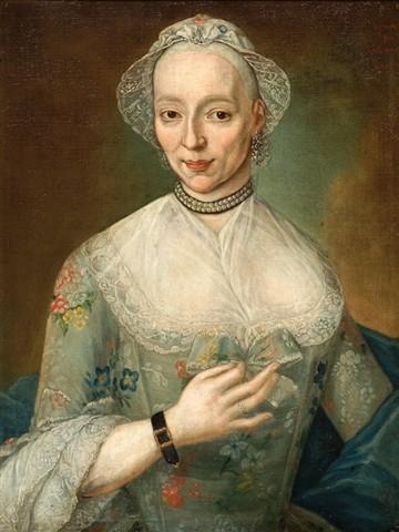 Andries Warmoes, portrait de femme, vente art and antique 2008.