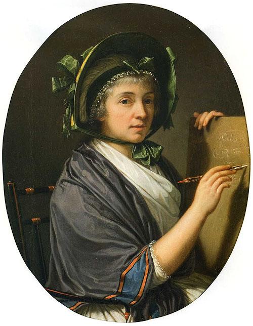 Portrait de la comtesse d'Albany par F.X. Fabre.