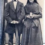 Couple, Roussillon, cliché J.B. Jacob, rue des Ecoles vielles à Perpignan, 1860.