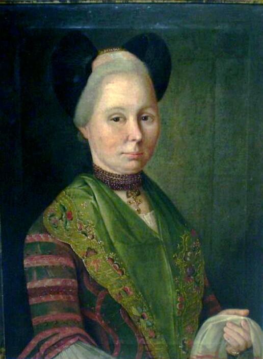 Portrait de femme, collection particulière.