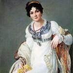 Francois Henri Mulard (1769 – 1850), portrait de femme, 1810.