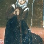 Fin du XVIIe s., Roussillonnaise, ex-voto de Domanova.