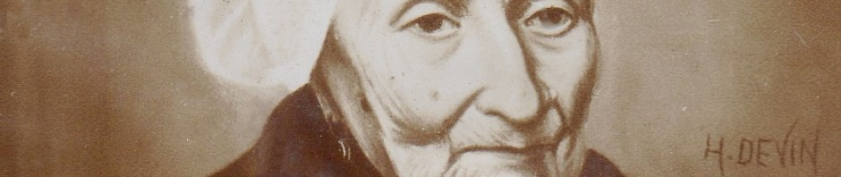 Portrait de Catalane agée, fin du XIXe s. H.Devin.
