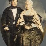 Couple de Douarnenez, ves 1860.