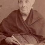 Vers 1870, femme âgée, Roussillon, Perpignan.