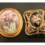 Bijoux émaillés du milieu du XIXe s., vente Fontainebleau, avril 2010.