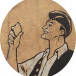 publicité sur boite de biscuits du Tech, début XXe s.