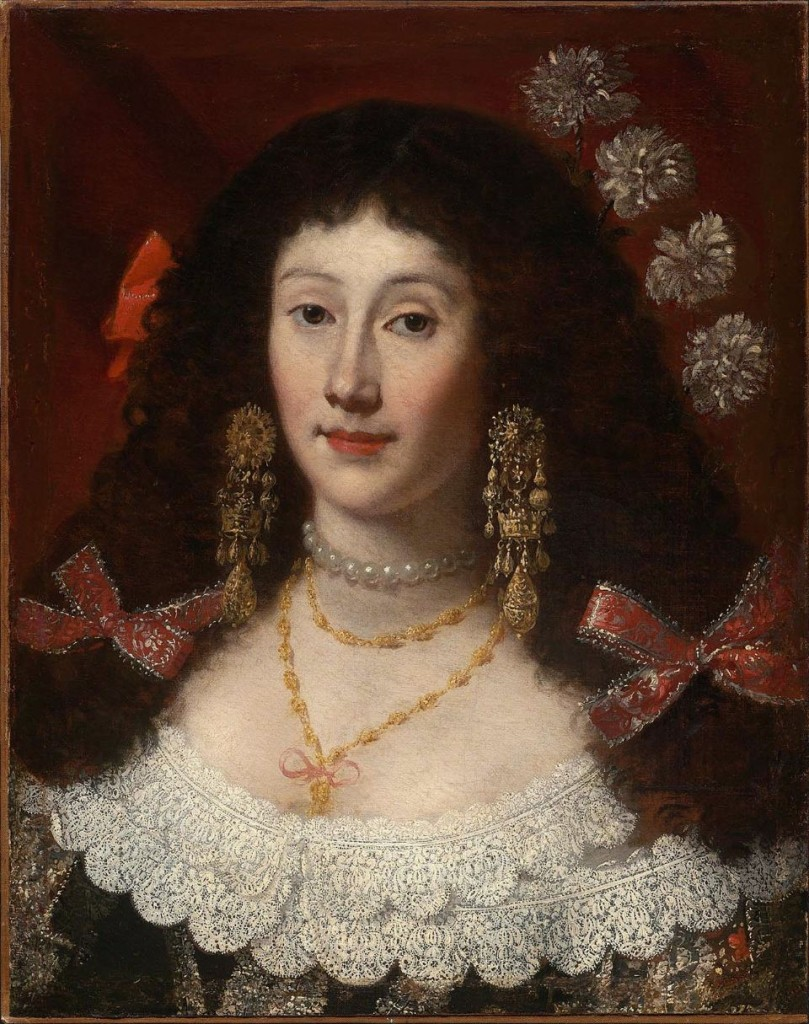 Portrait de Dame, Juan Carreno Miranda, Musée de Boston.