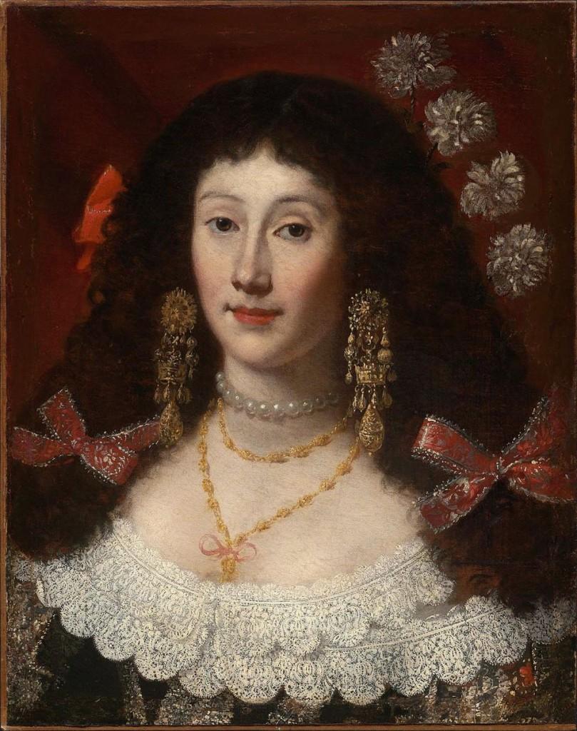Portrait de Dame, Juan Carreno Miranda, Musée de Boston.