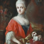 Francesco de Mura (1696-1782), portrait de Mlle Marie Xavière Romano, Bowes museum